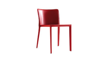 Modern upscale dining chairs in downtown Vancouver