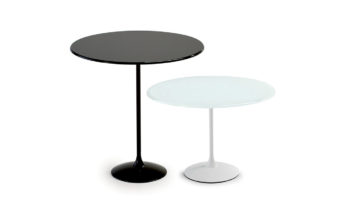 italian sovet tulip round side table