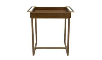 dora wood side table modern high end furniture