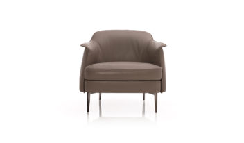 boheme armchair italian leather ark interiors highend furniture