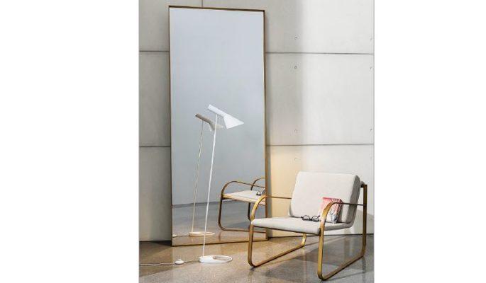 Sophisticated floor mirror in vancouver
