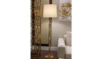 BAMBOO with shade -Floor lamp 02 (website)
